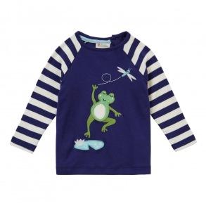 Barntröja med raglan ärm - Groda 12mån-3år - Barntröja groda 18-24mån 92cl