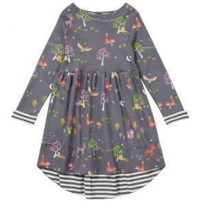 Barnklänning - Woodland 2-3,6-7år - Barnklänning woodland 2-3år 98cl