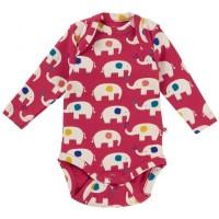 Body för baby - Elefanter nyfödd-24mån
