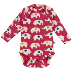 Body för baby - Elefanter nyfödd-24mån - Body elefanter nyfödd 50cl