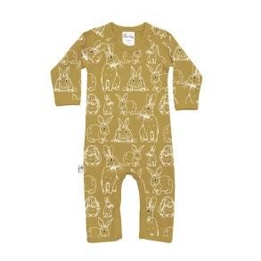 Babypyjamas/lekdräkt - Kaniner 3-18mån - Babypyjamas Kanin 3-6mån