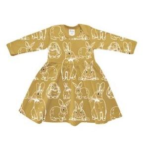 Klänning baby - Kaniner 3-18mån - Babyklänning kanin  3-6mån