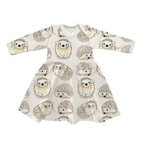 Klänning baby - Igelkott 3-18mån - Babyklänning kanin  3-6mån