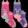 Ezsox barnstrumpor - Katt & Mus 2-pack (19-34) - 2-pack barnstrumpor katt och mus 23-30