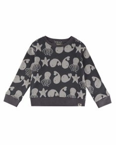 Sweatshirt - Sea friends 2-6år - Sweatshirt 2-3år
