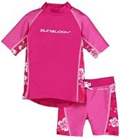 Zunblock UV-set Hibiskus rosa 74/80cl