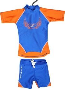 Zunblock UV-set Rocky Orange/Klarblå 74-92cl - Zunblock Rocky orange 74/80cl