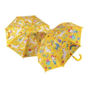 Barnparaply - Regnbågslandet - Barnparaply Regnbågsland