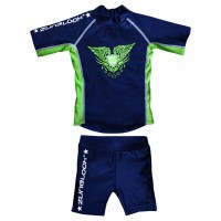 Zunblock UV-set Rock´n Navy/Neongreen 74/80cl