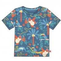 T-shirt kortärmad - Regnskog 1-8år