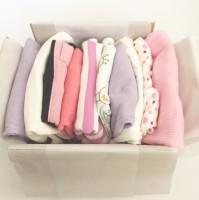 Babybox 10-plagg Rosa 50-80cl