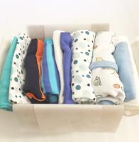 Babybox 10-plagg Blå 50-80cl