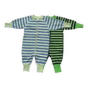 Babypyjamas 2-pack stl. 50cl (stora i storleken) - Babypyjamas 2-pack ljus/svart