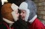Vintermössa i lammskinn - Grå 2-8år