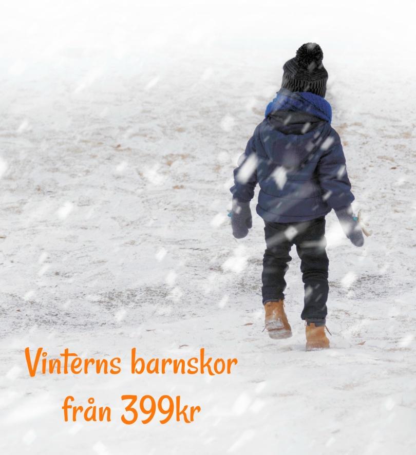vinterns barnskor