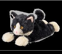 Warmies - Svart katt - Värmekudde