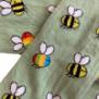 Barnstrumpbyxor Rain bee - med halkskydd 0-6år - Rain bee (116/122cl) 5-6år