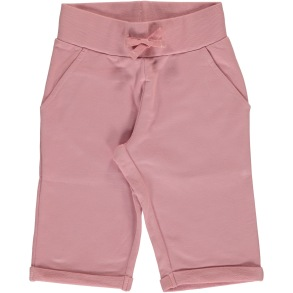 Maxomorra SweatShorts - Dusty Pink 86-128cl - Maxomorra shorts dusty pink 86/92cl