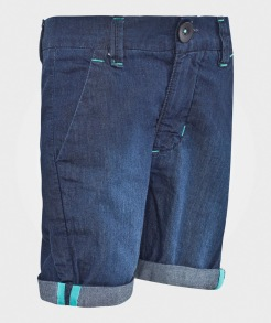 Geggamoja Soft Chino Shorts Denim/blue 86/92,110/116 - Geggamoja chinos shorts 86/92cl