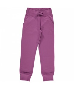 Maxomorra - Sweatpants Regular Lila 80, 92cl - Maxomorra sweatpant lila 80cl