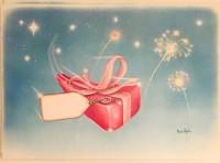 Julkort/paketkort 20-pack