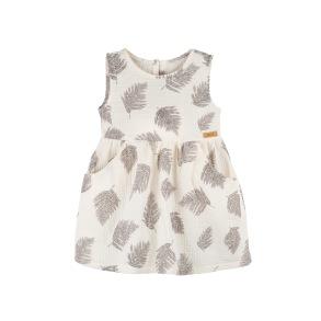 Barnklänning - Blad 86-116cl - Barnklänning fjäder 86cl