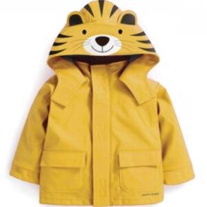 Regnjacka för barn - Tiger - 18-24mån