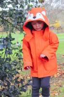 Regnjacka för barn - Räv