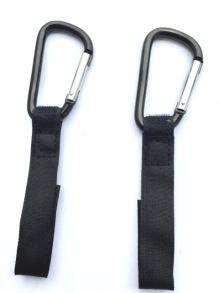 Barnvagnskrokar 2-pack - Barnvagnskrokar