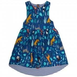 Barnklänning - Wildlife 2-8år - Barnklänning wildlife 2-3år  98cl