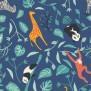 Barnklänning - Wildlife 2-8år