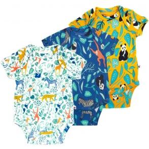 Babybody 3-pack 0-18mån - Babybody 3-pack nyfödd 56cl
