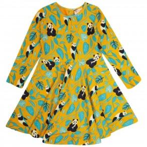 Barnklänning Panda 2-8år - Barnklänning panda 2-3år 98cl