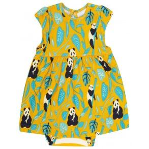 Babyklänning Panda - 0-24mån - babyklänning panda 0-3mån 64cl