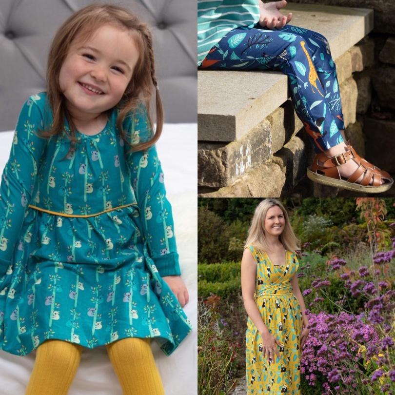 Vårens färgglada ekologiska barnkläder