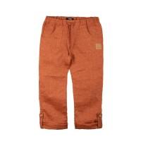 Byxor linne dusty orange 98-122cl