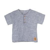 Tunika/T-shirt för barn i linne - Randig 86-116cl