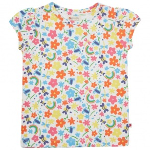 T-shirt barn - Regnbågsäng 1-6år - Tshirt regnbågsäng 12-18mån 86cl
