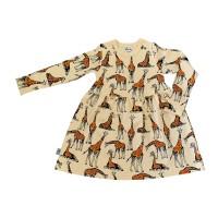 Barnklänning Giraffer - 1-6år