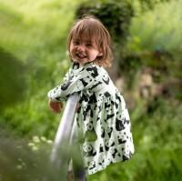 Barnklänning - Pandor - 1-6år