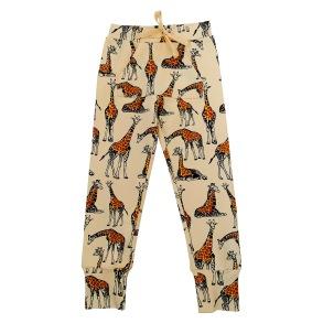 Joggingbyxor för barn - Tunna - Giraffer 1-8år - Joggingbyxor giraff 1-2år