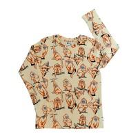 T-shirt barn långärmad - Apa 1-8år