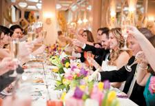 Bröllopet, den stora festen