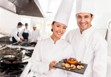 catering student, Halmstad