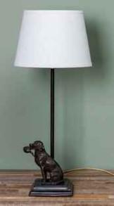 LAMPA HUND MED FASAN