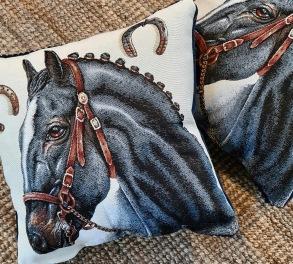 Kudde motiv häst -