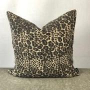 Gepard mönstrat kuddfodral