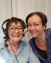 Birgitta Backlund gästade Fredagsmagasinet på Radio Österåker där hon berättade om sitt liv, sitt författarskap och livsresa.