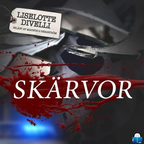 Nu finns äntligen Skärvor på Storytel, Bookbeat och Nextory.