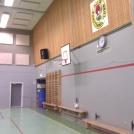Sporthallen före ombyggnad
